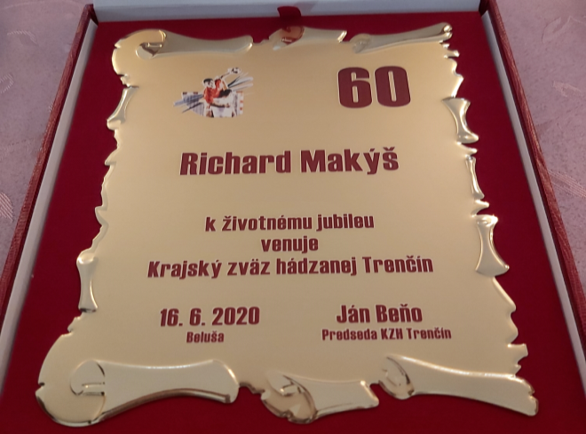 Tréner Makýš jubilantom